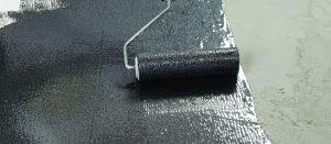 Liquid damp proof membrane